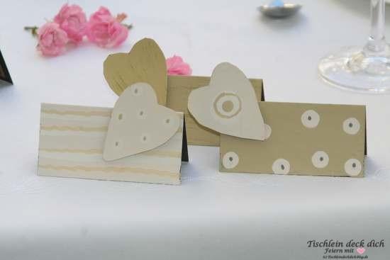Tischkartenhalter aus Metall Magnetherz nicht nur für Hochzeiten