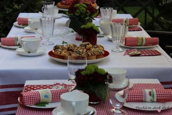 Geburtstagsdekoration Tischdeko für einen Gärtner