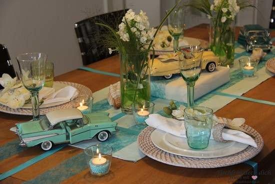Tischdekoration kuba tischlein deck dich for Tischdekoration ideen
