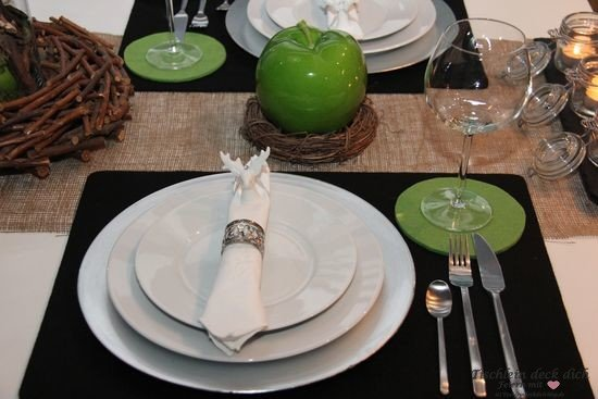 Tischdekoration Suedtirol südtiroler Tischdeko
