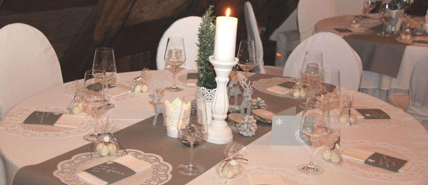 Tischdeko 50 geburtstag winter  Ein Wintermärchen zum 50. Geburtstag - Tischlein deck dich
