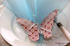 Schmetterlinge Tischdekoration