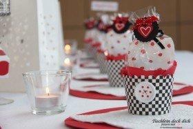 Gastgeschenk im Cupcakeförmchen