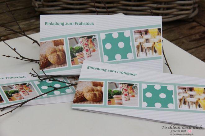 Einladung zum Fruehstueck Cewe cards