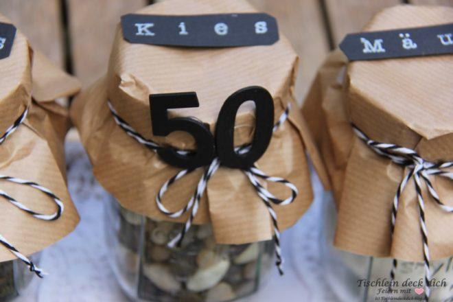 Geldgeschenk zum 50. Geburtstag