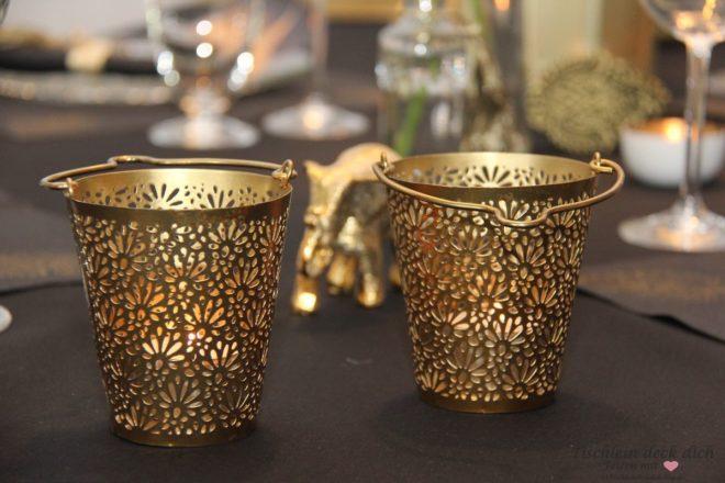 Teelichte_gold
