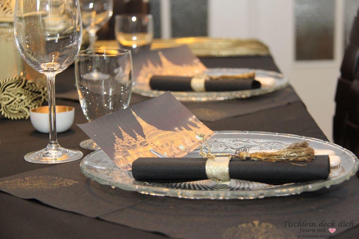 asiatische Tischdekoration Myanmar