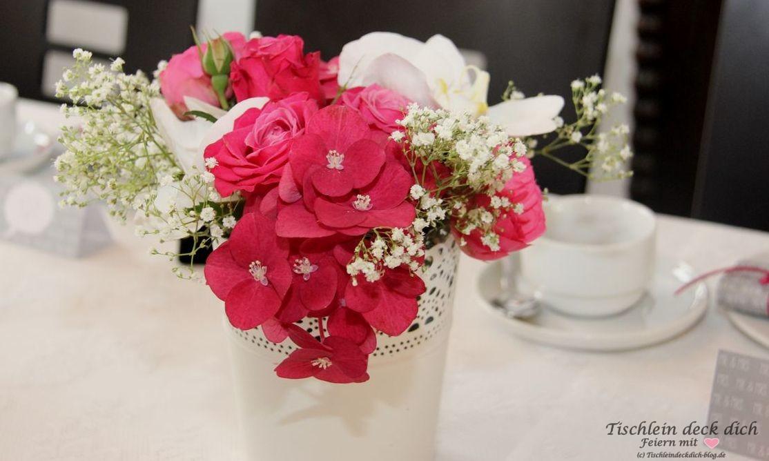 standesamtliche Hochzeit Blumenstrauß - Tischlein deck dich