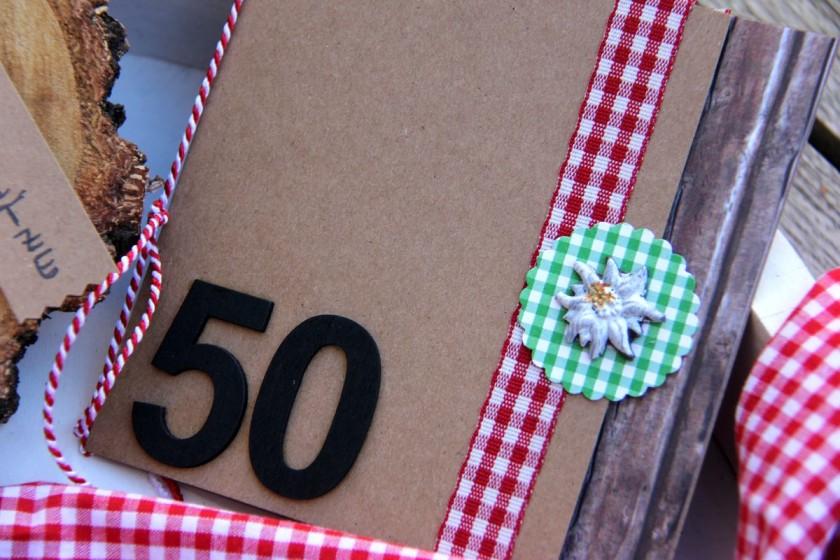 Geldgeschenk 50ter Geburtstag