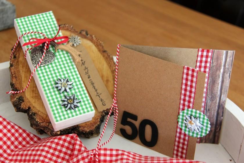 Geldgeschenk für 50 Geburtstag