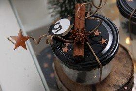 Adventskalender Marmeladenglas