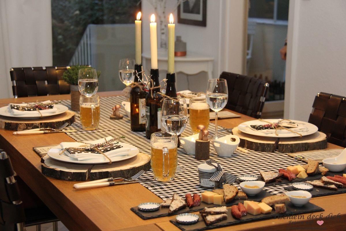 Tischdeko herbst archive tischlein deck dich - Tischdeko 50 geburtstag ideen ...