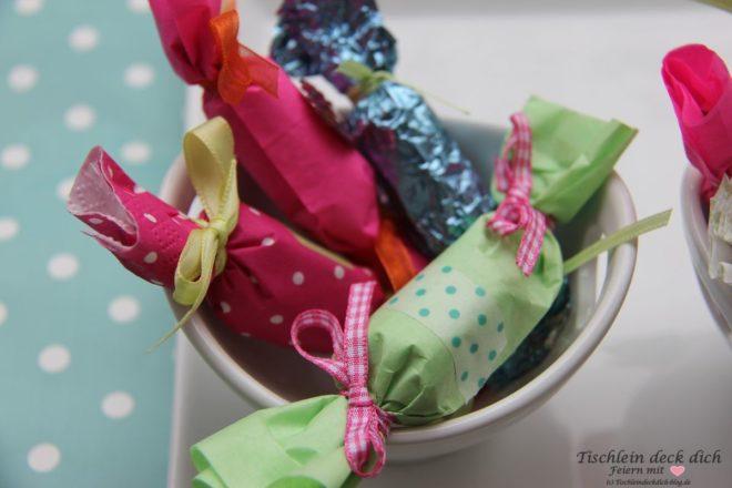 Bonbons in Schale