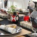 Eisenbahnromantik Tischdekoration