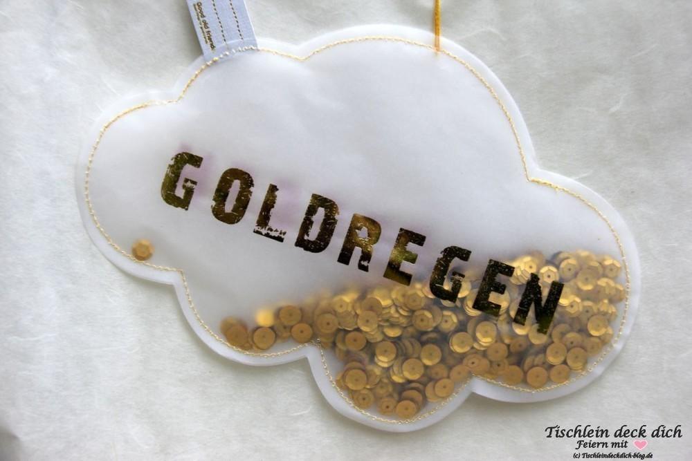 Goldhochzeit-Goldregen