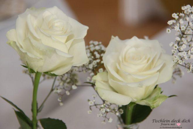 Goldhochzeit Rosen