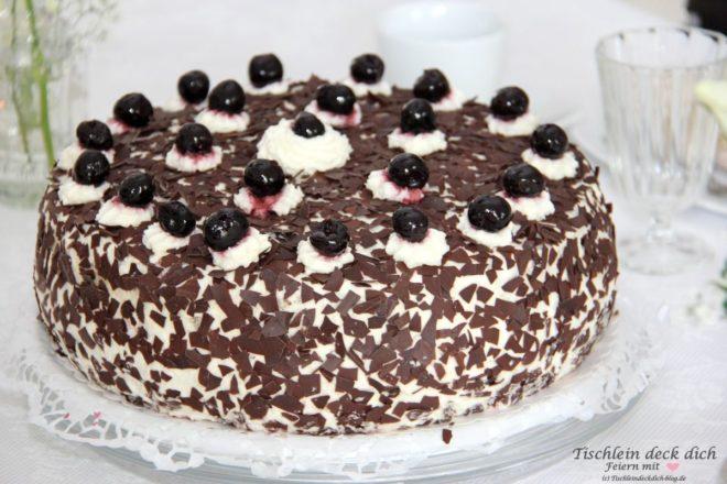 Goldhochzeit Torte