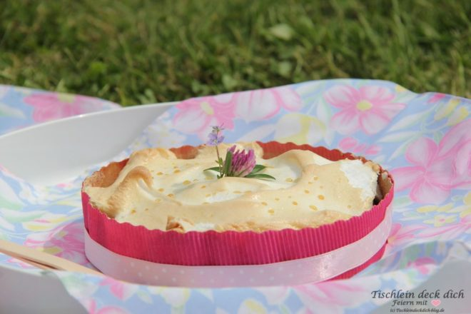 Picknick Rharbarberkuchen