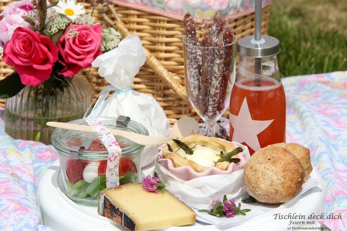 Picknick im Gruenen