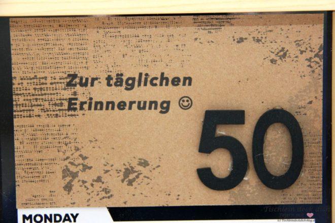 Zur Taglichen Erinnerung Ein Geldgeschenk Zum 50 Geburtstag