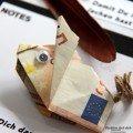 Geldgeschenk 50. Geburtstag Geldschein falten Schwein