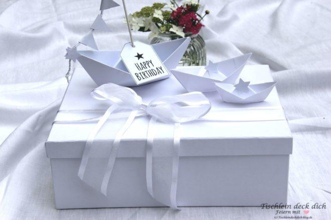 Geldgeschenk Schachtel zur White Sensation