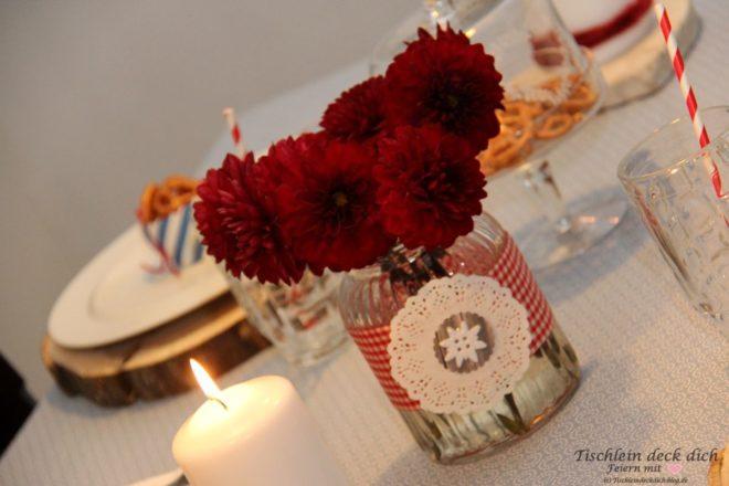 Oktoberfest Blumendekoration