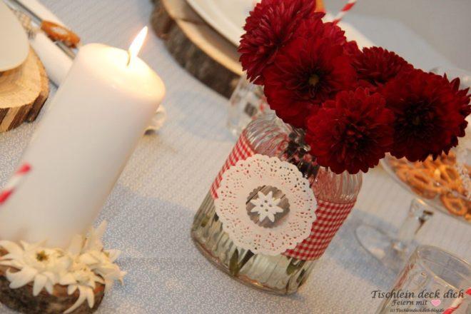 Oktoberfest Blumendeko