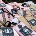 Adventskalender rosa kleine Pakete
