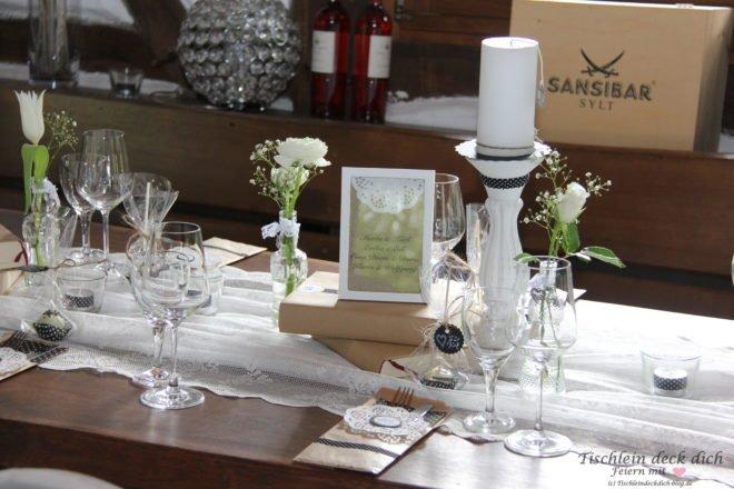Tischdekoration Zum 50 Geburtstag Tischlein Deck Dich