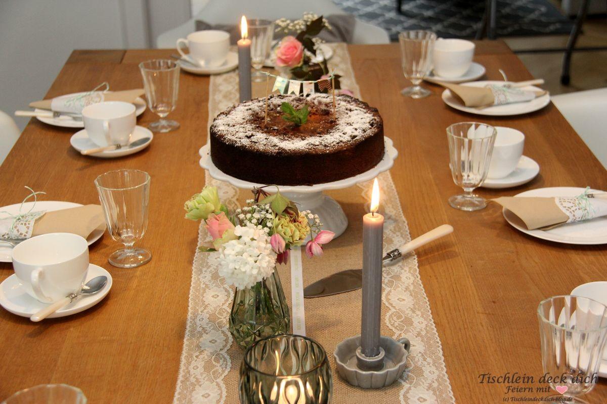 Vintage Vintage - Geburtstag soll man feiern! - Tischlein deck dich