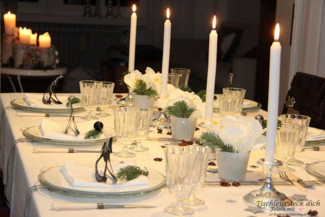 Stimmungsvolle Tischdekoration Mit Amaryllis Tischlein Deck Dich