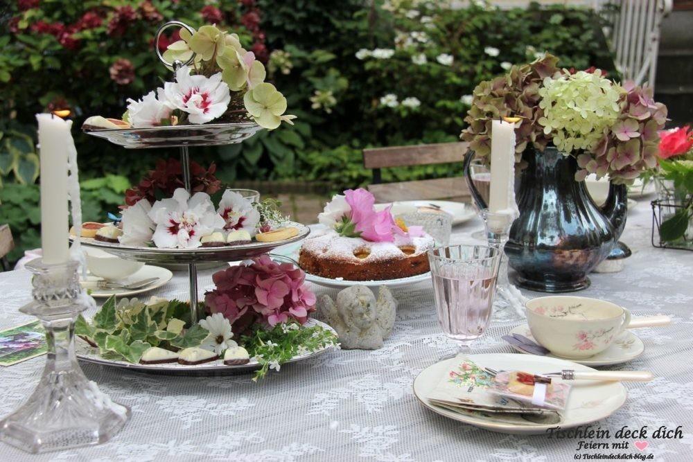 Teaparty Tischdeko