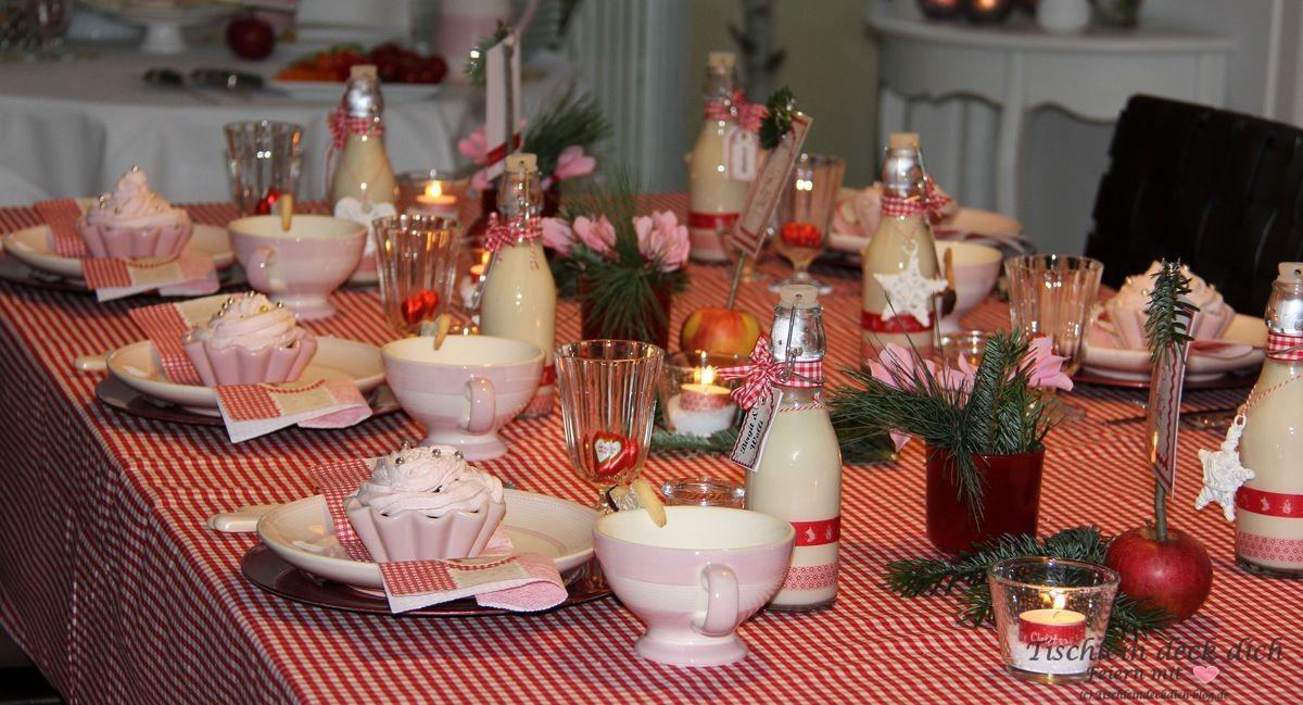 Cafe De Noel Weihnachtliche Tischdeko Tischlein Deck Dich