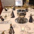 Silvesterfeier Tischdekoration