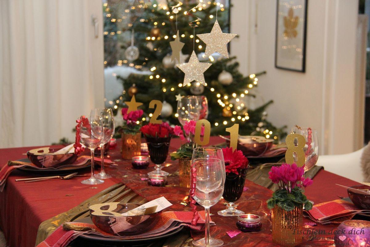 Mit 1001 Nacht ins neue Jahr - Tischlein deck dich
