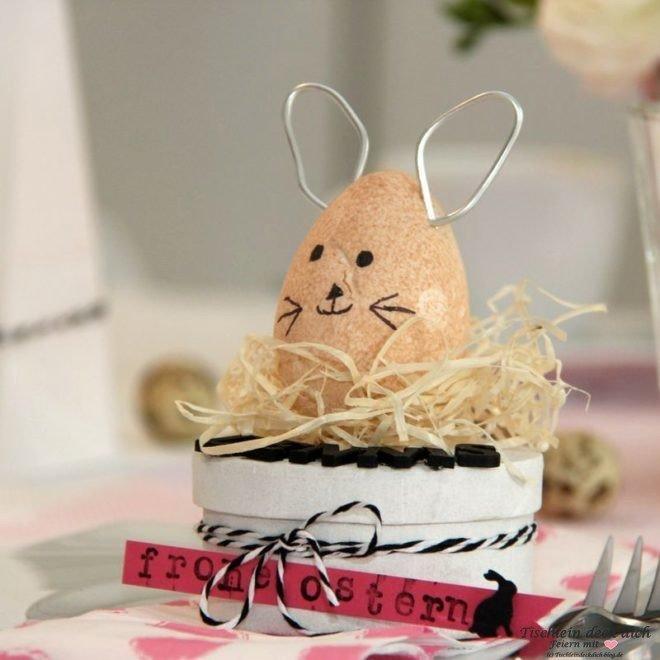 Ostern DIY mit Styroporei