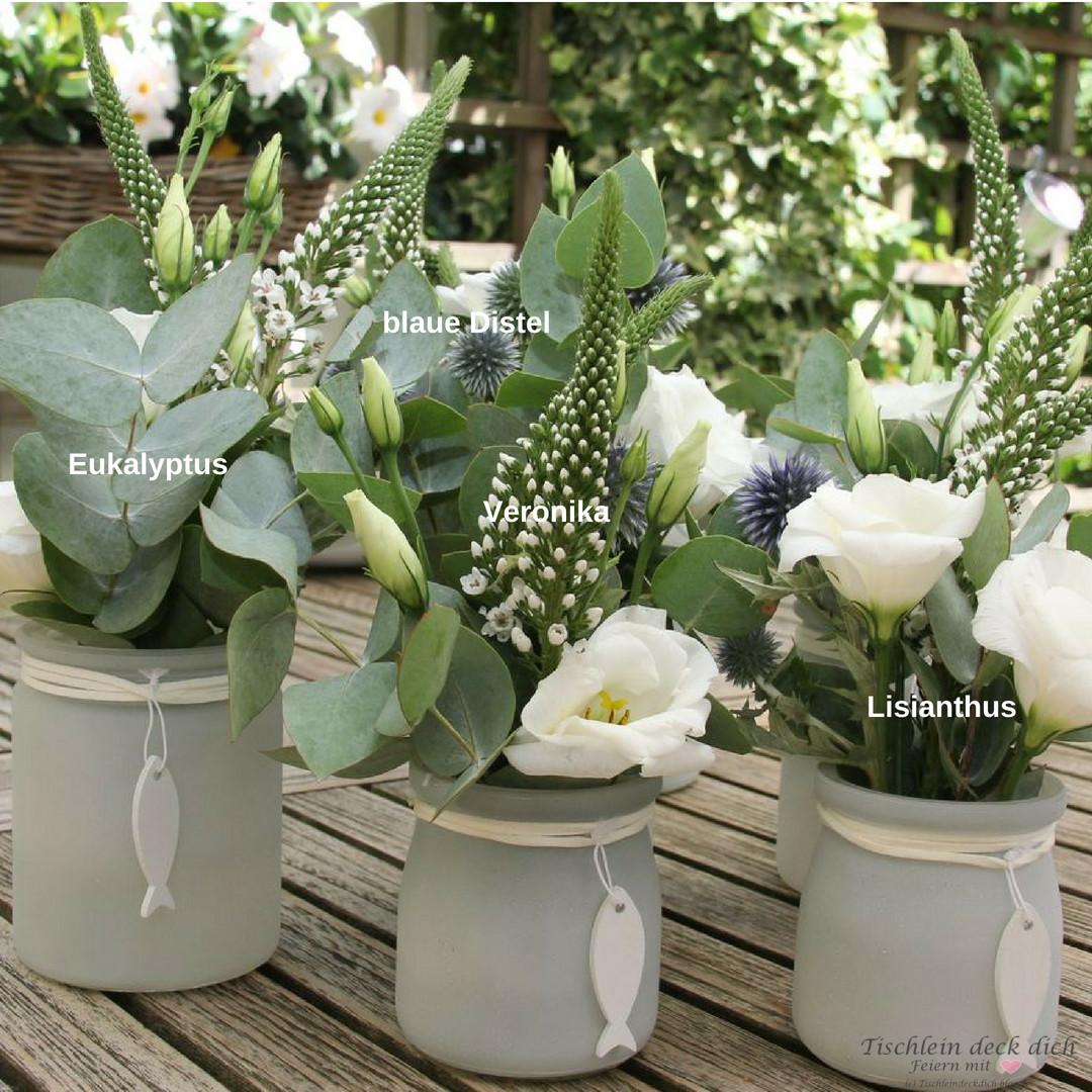 Blumendeko Kommunionsfeier