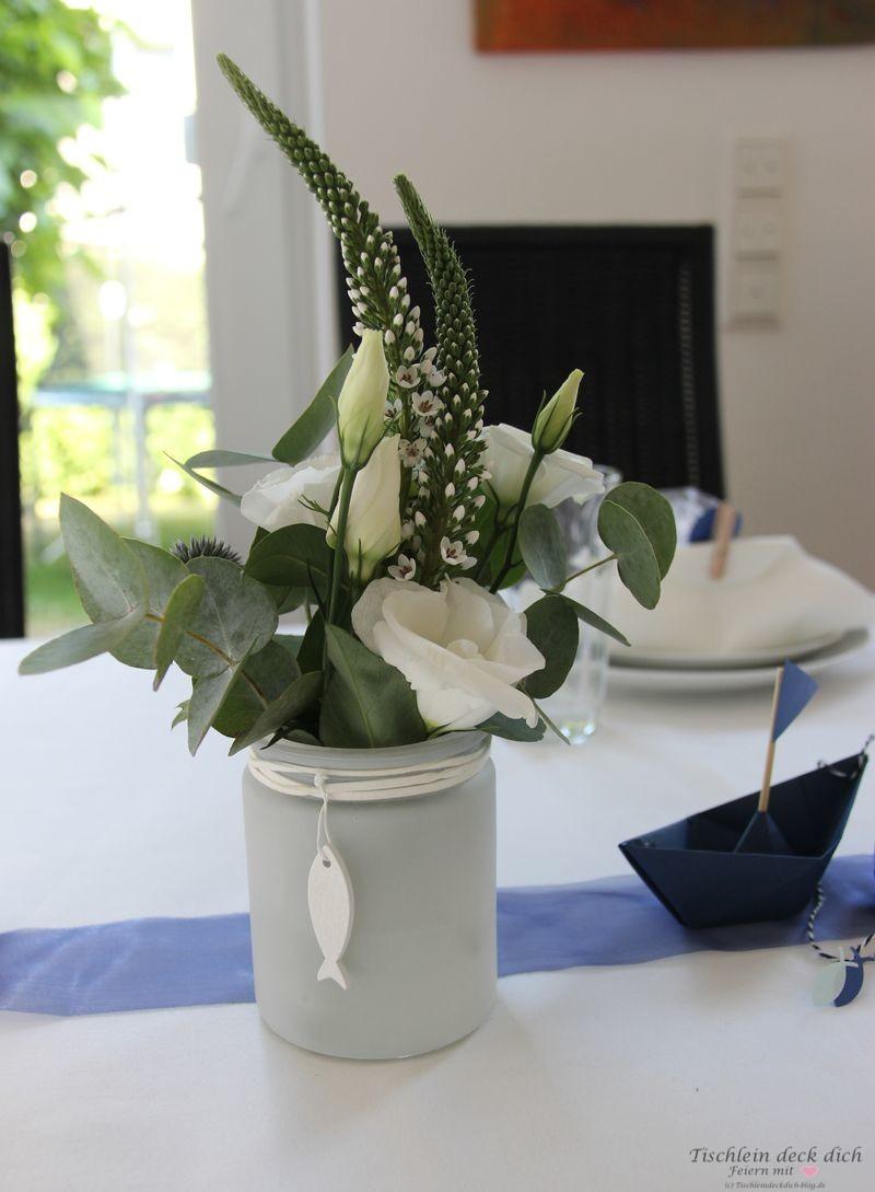 Kommunionsfeier Blumendeko