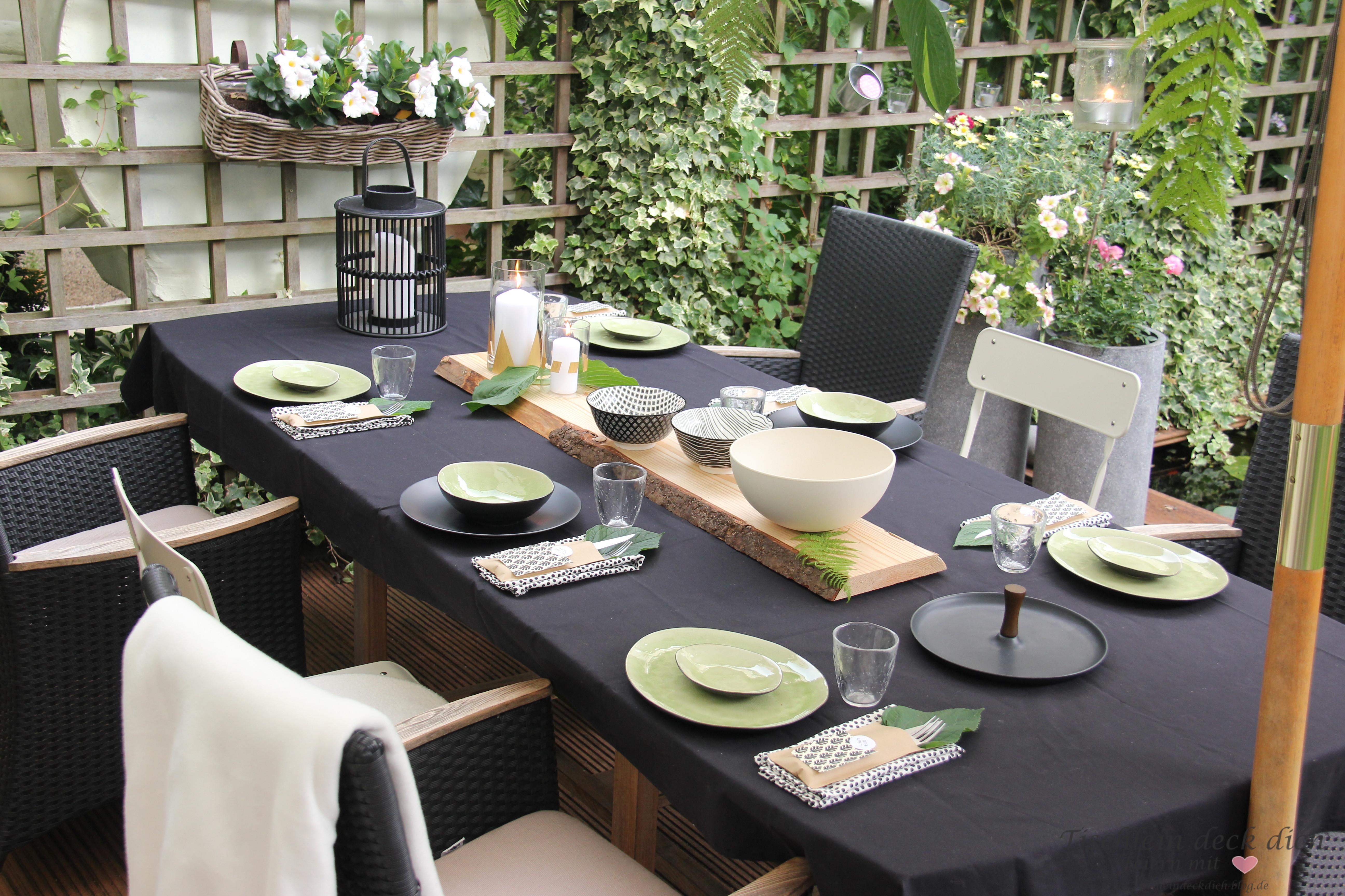 Tischdeko Im Urban Style 1 Tischlein Deck Dich