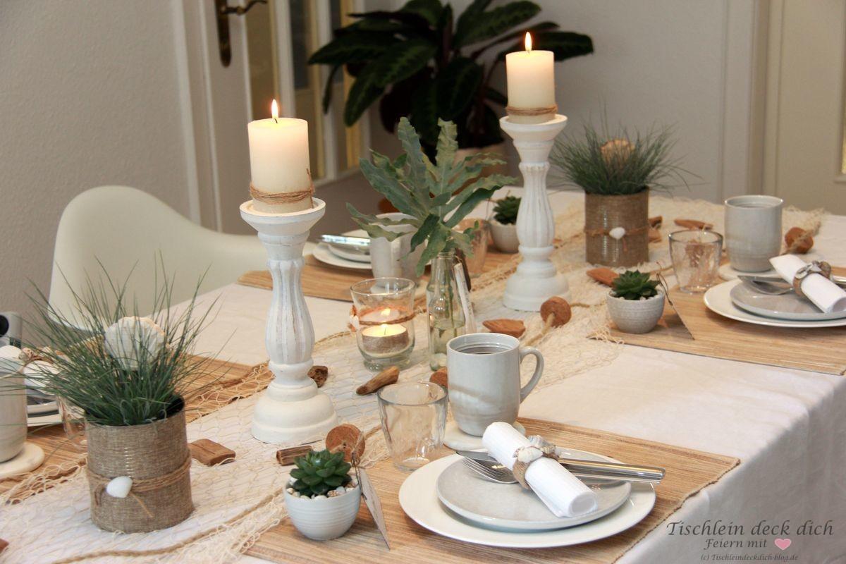Ideen Fur Eine Maritime Tischdekoration Zum Fruhstuck Tischlein