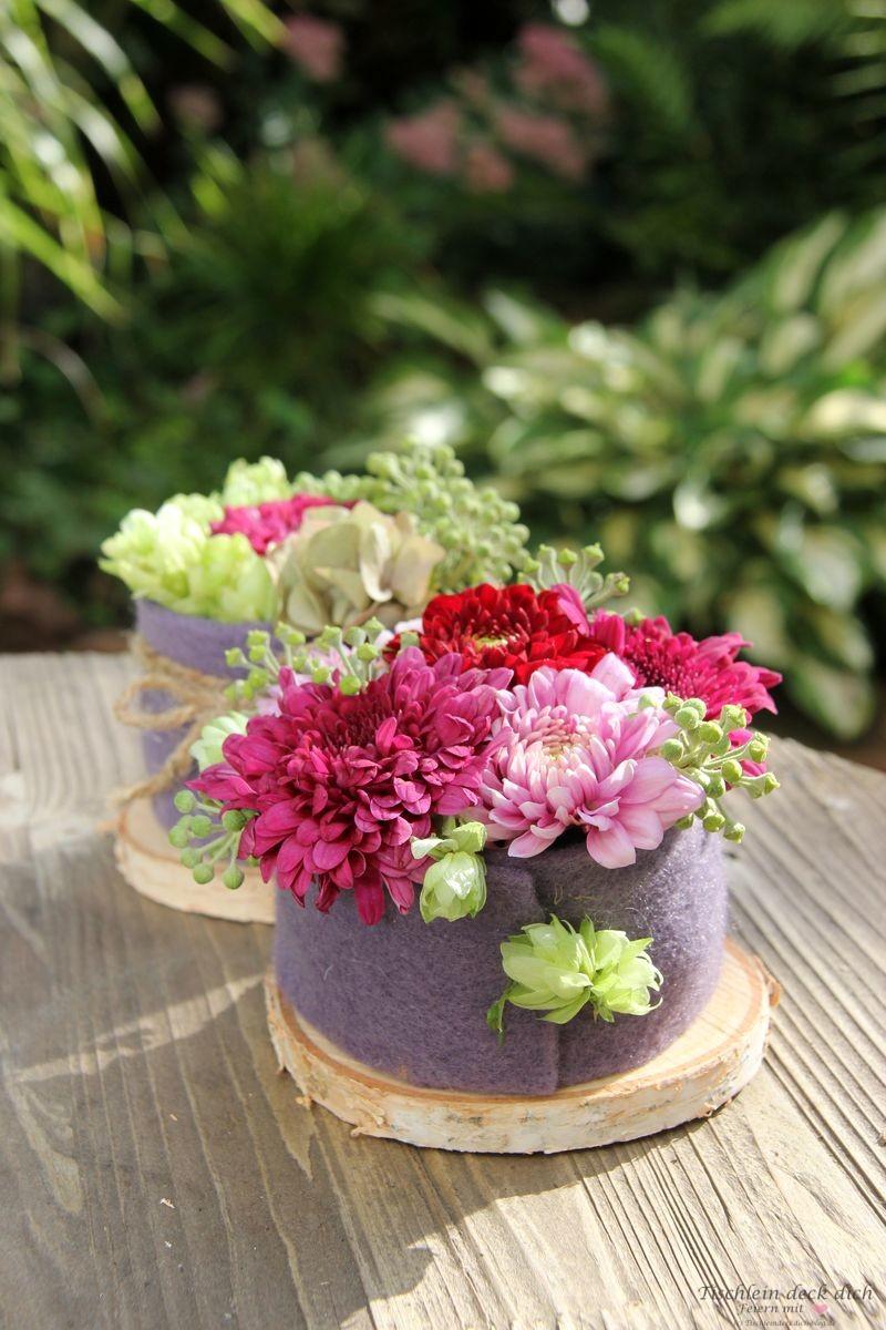 Blumentoertchen herbstlich