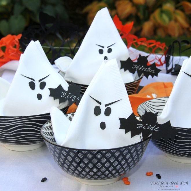 Halloween-Gespensterserviette