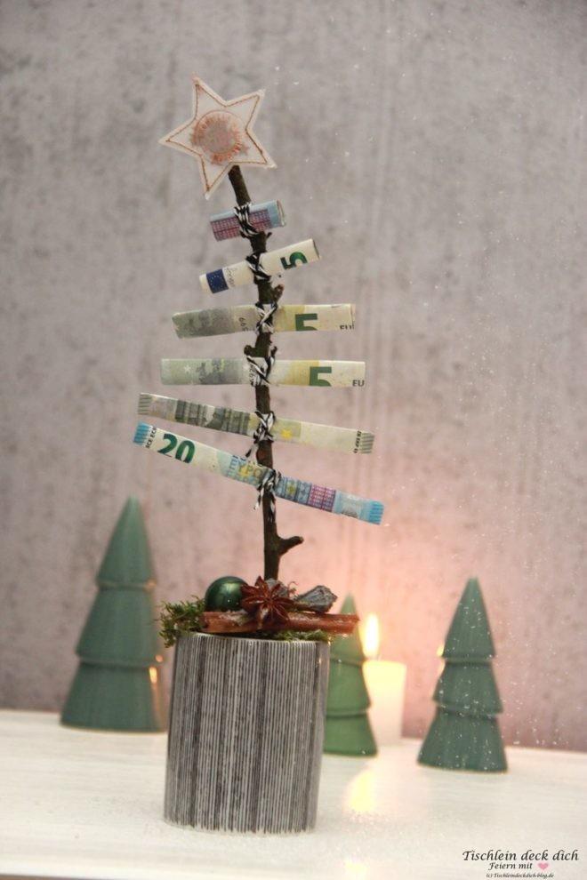 Das Geht Fix No 26 Oh Tannenbaum Geldgeschenk Zu Weihnachten