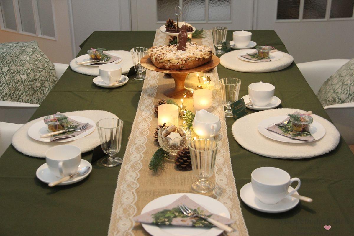 Last Minute Ideen Tischdekoration Fur Deinen Weihnachtskaffee