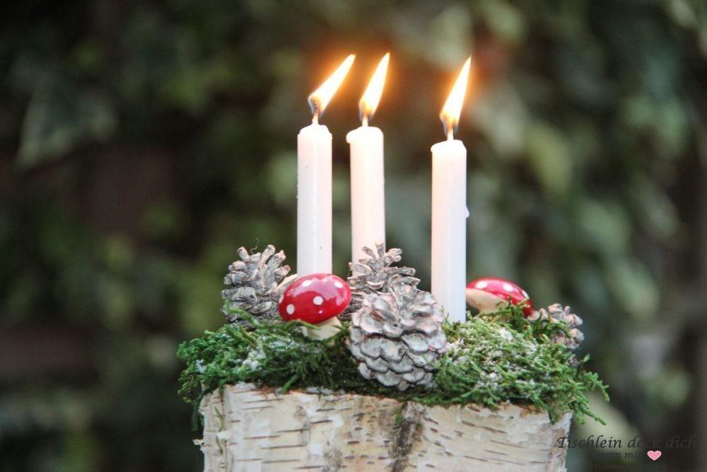 winterliche-Kerzendeko